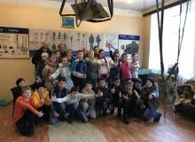 Обзорная экскурсия школьников в Ярославском аэроклубе