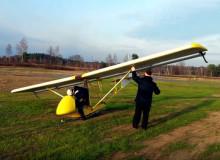 Обучение полетам на планерах БРО-11М. Ярославский авиаклуб ДОСААФ России